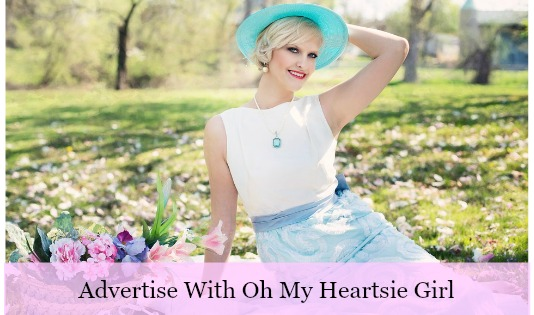 Advertise with oh my heartsie girl