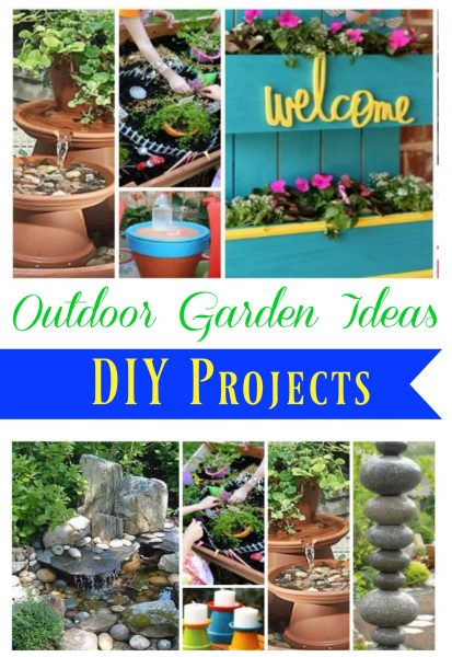 Outdoor Garden Ideas DIY Projects 8 Comments