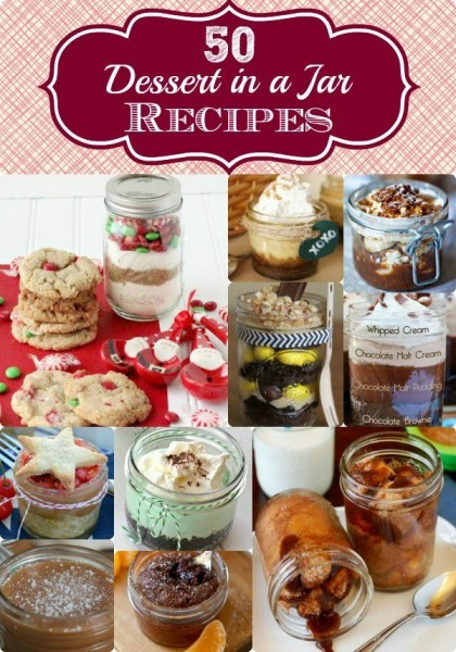 50 Desserts in a Mason Jar