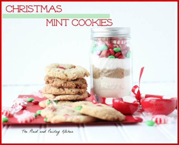 Christms Mint Cookies P & P Kitchen