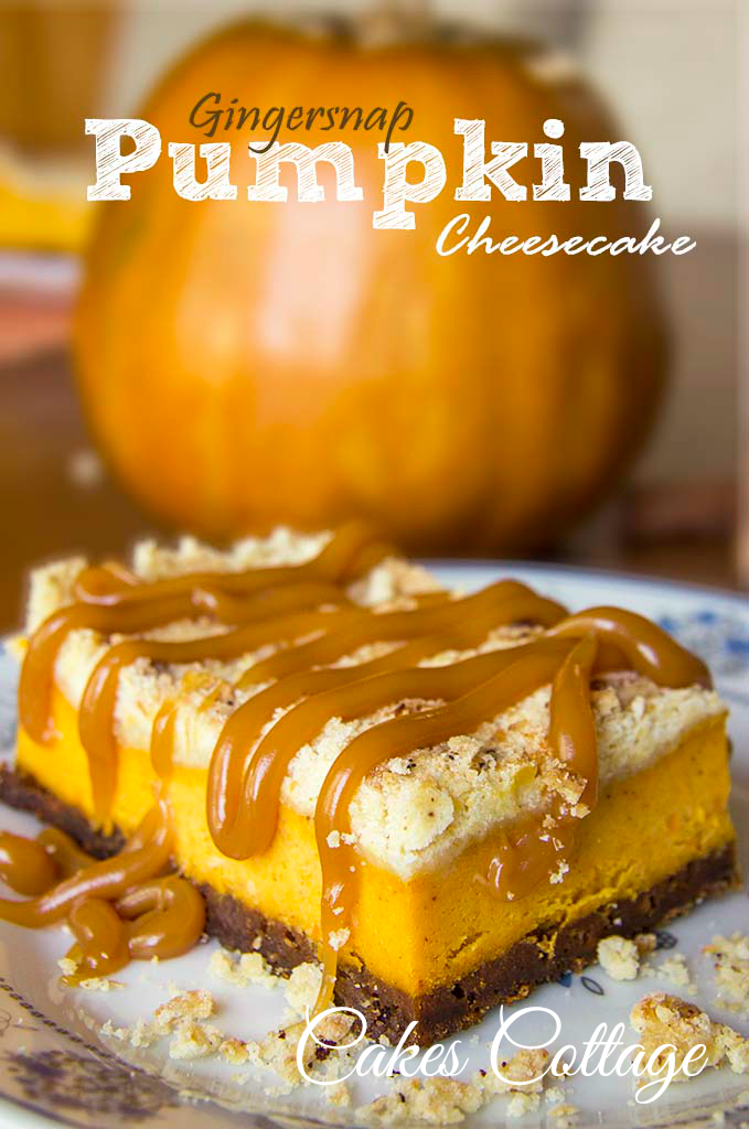 Ginger Snap Pumpkin Cheescake Cakes Cottage