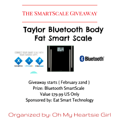 Blogger Opp-Bluetooth SmartScale Giveaway