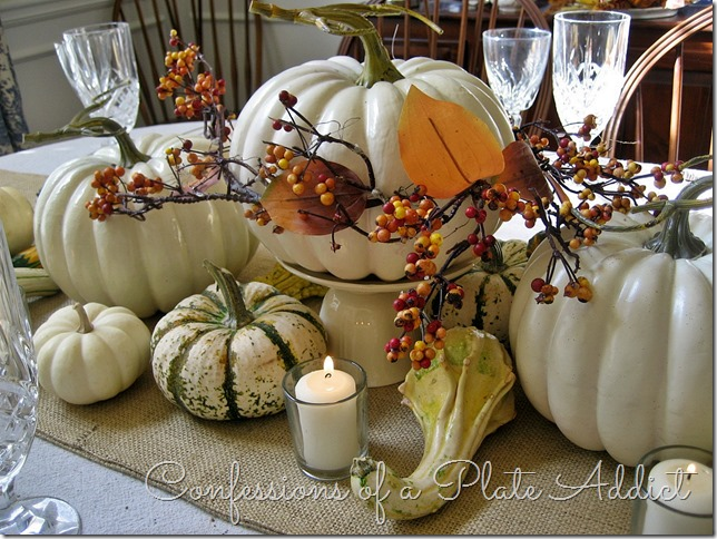 Thinking about thanksgiving tablescape from conessions of a plate addict