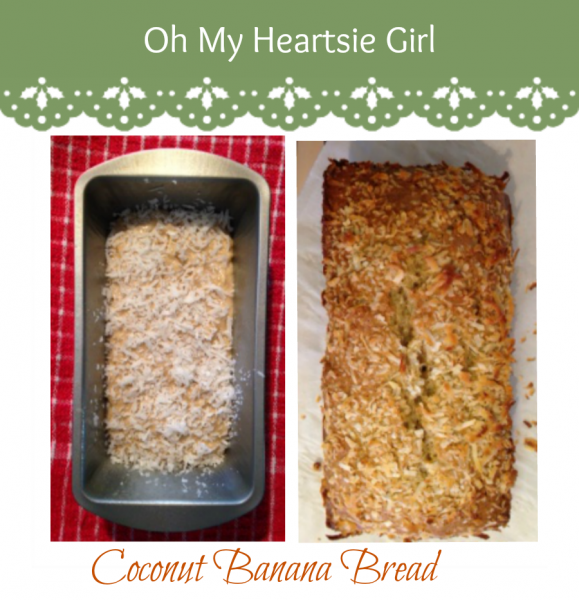 Coconut Banana Bread Recipe