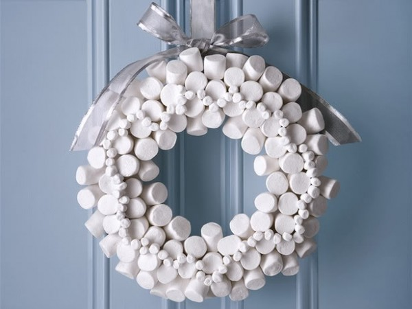Marshmellow Wreath Food Network