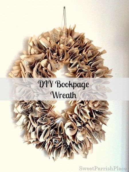 DIY Bookpage Wreath12_thumb