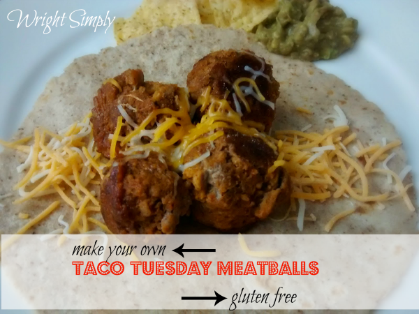 Taco Meatballs Wright Simply