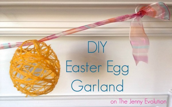 DIY Easter Egg Garland The jenny Evolution