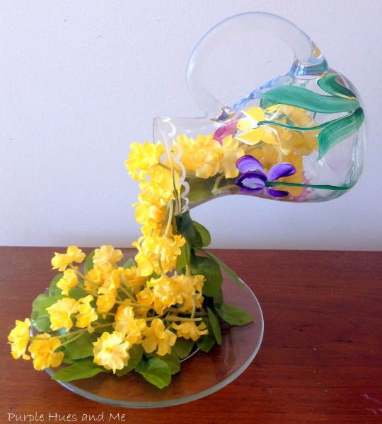 April Showers, Flowing Flowers DIY