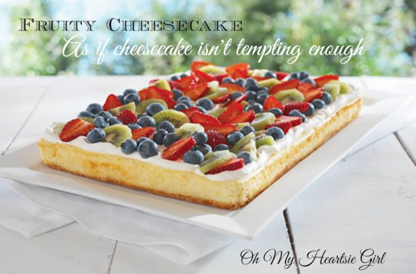 Fruity cheesecake recipe kraft recipes oh my heartsie girl fruity cheescake from kraft recipes forumfinder Image collections
