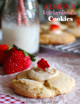 Almond Snickerdoodle Cookies Poster