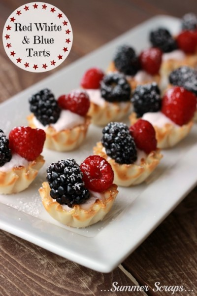 red-white-and-blue-tarts-1 Summer Scraps