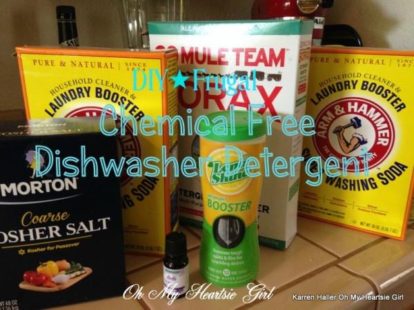 DIY Super Frugal Dishwasher Detergent