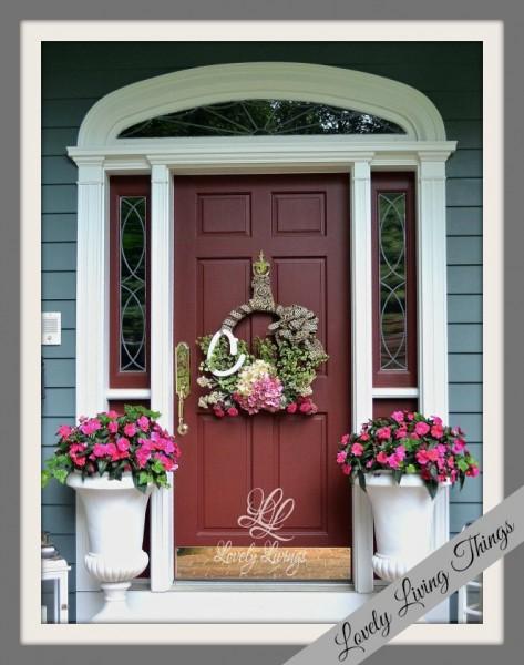lovely-summer-wreath5 Lovely Living THings