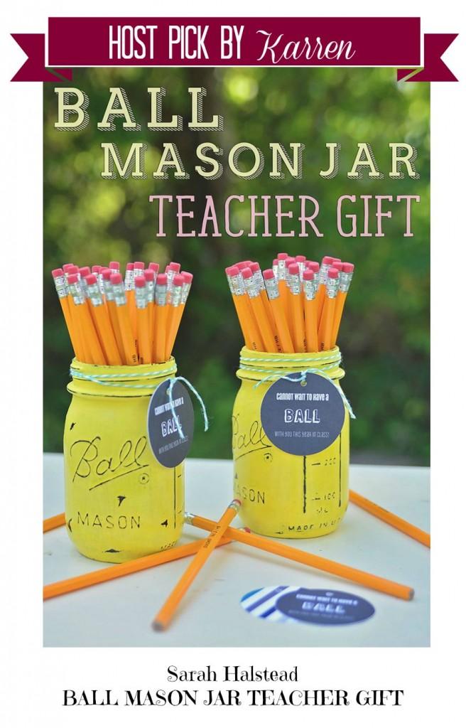Ball Mason Jar-Sarah Halstead