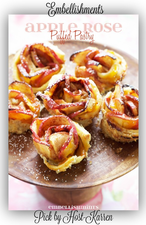Apple-Rose-Puffed-Pastry
