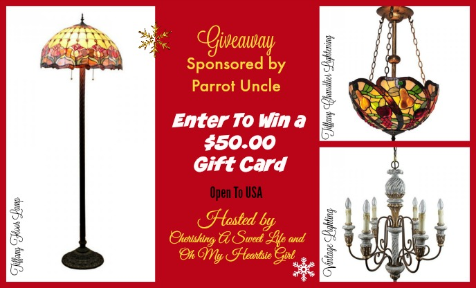 Giveaway SPonsored by Parrot Uncle