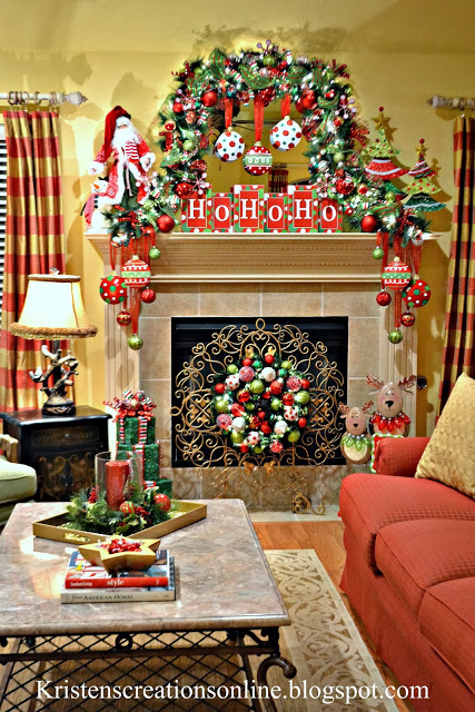 Christmas Mantels Tour Oh My Heartsie Girl