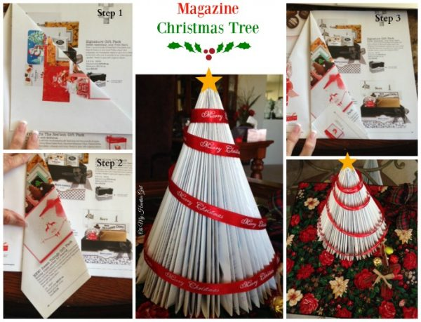Magazine Christmas Trees