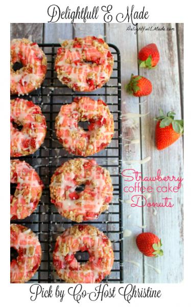 Strawberry-Coffee-Cake-Donuts-DelightfulEMade.com-