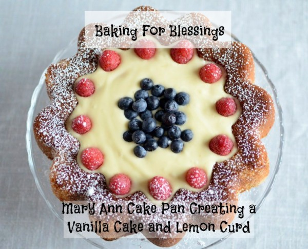 Baking For Blessings-Vanilla Cake Lemon Curd