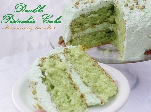Double Pistachio Cake