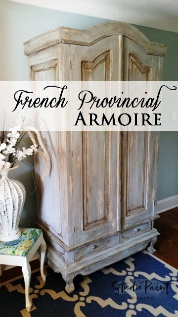 Nigra Furniture - French Provincial Painted Wardrobe