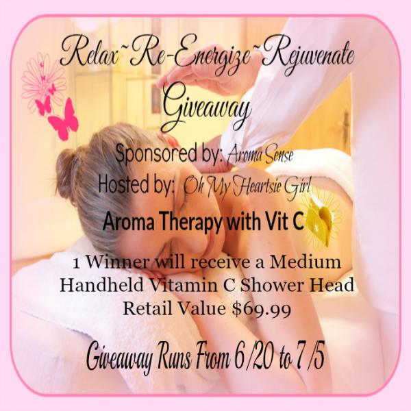Aroma Sense Shower Head Review