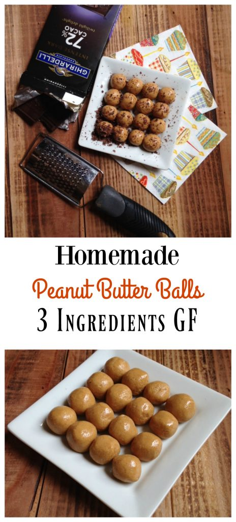 how to make homemade peanut butter balls