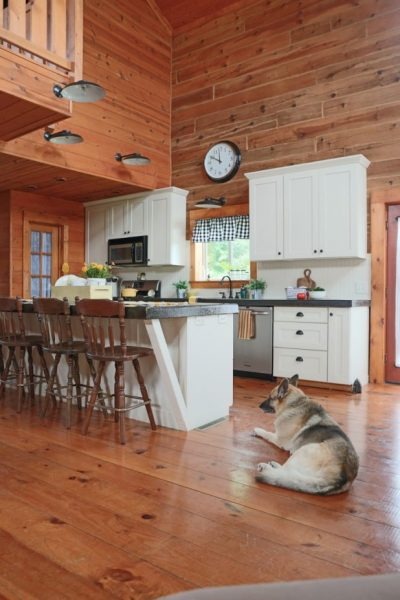 Creative-Cabin-Adding-a-Beadboard-as-a-Back-Splash