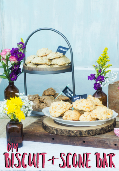 DIY Biscuit and Scone Bar