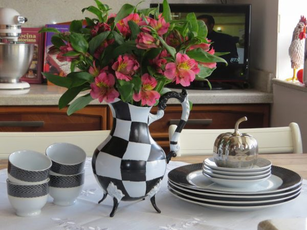 Tarnished Tea Service Re-purposed-Fabby's