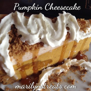 Pumpkin Cheesecake-Marilyns Treats
