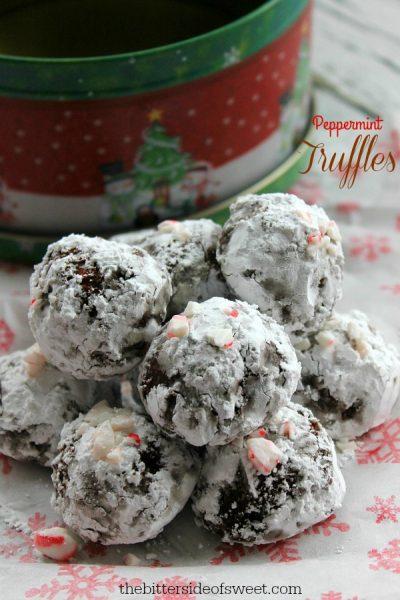 The Bitterside of Sweet Peppermint-Truffles