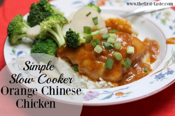 The First Taste Simple-Slow-Cooker-Orange-Chinese-Chicken