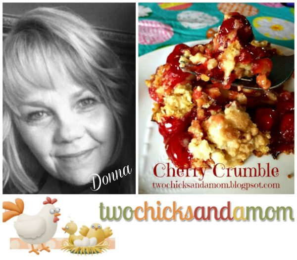 Cherry Crumble- Two Chicks and a Mom