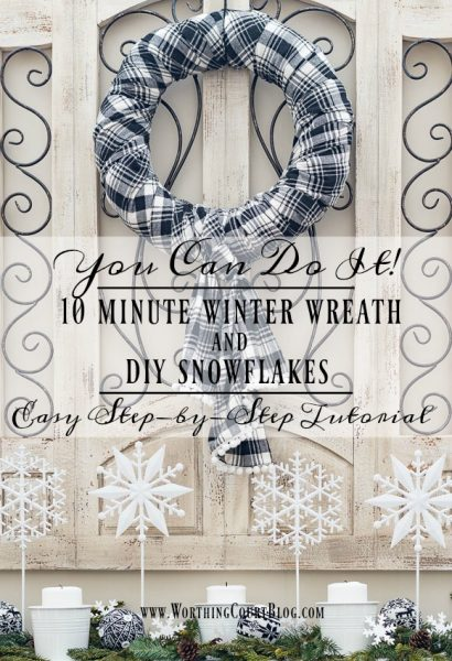 Worthington Court 10-Minute-Winter-Wreath-and-DIY-Snowflakes
