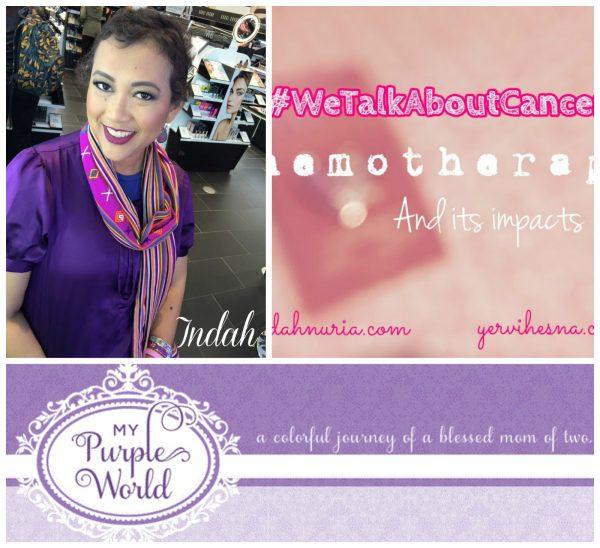 My Purple World //Its World Cancer Day