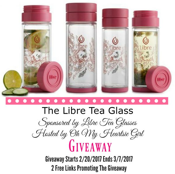 Libre Tea Glass Giveaway