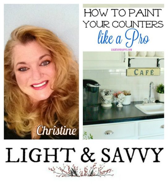 Light and Savvy How to Paint Countertops Successfully