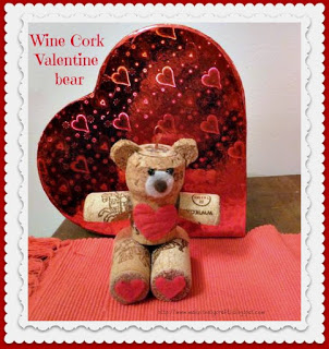 Make It Easy Crafts How To Make a Wine Cork Teddy Bear