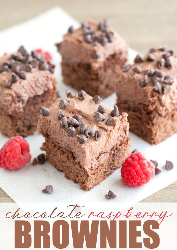 Simply Stacie Chocolate-Raspberry-Brownies