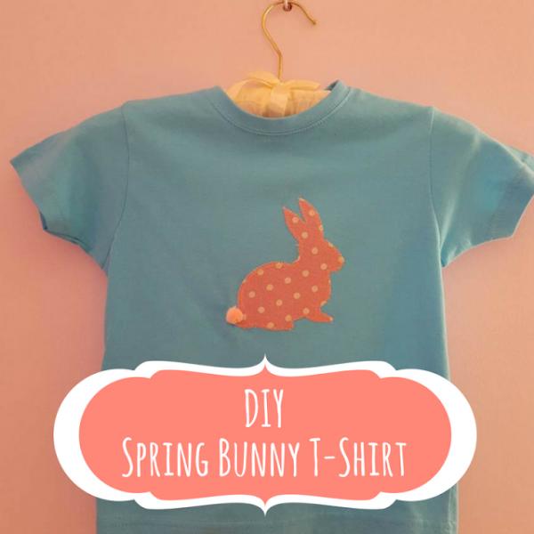 Keeping It Real DIY Spring Bunny T-Shirt