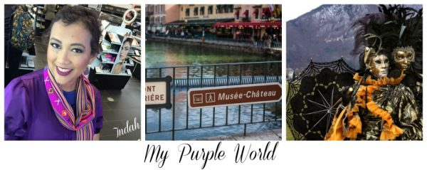 My Purple World France In A Half A Day