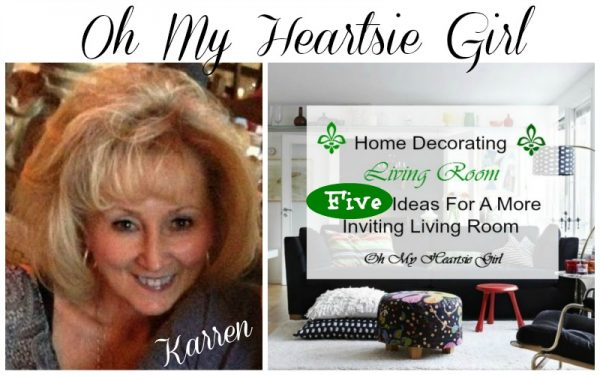 Oh My Heartsie Girl-5 Ideas For A More Inviting Living Room