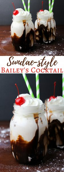 Sandy Alamode Sundae-Style-Baileys-Cocktail For St Patricks